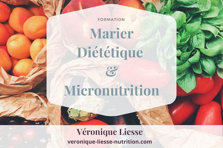 Formation Marier Diététique et nutrition