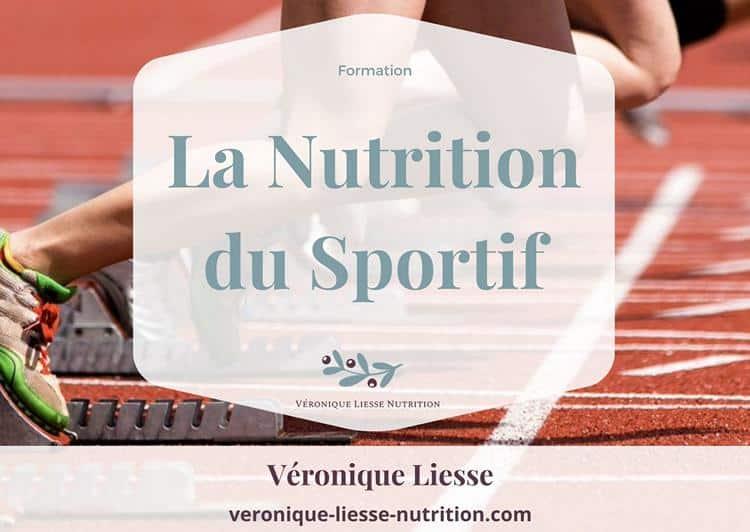 Formation Nutrition du sportif