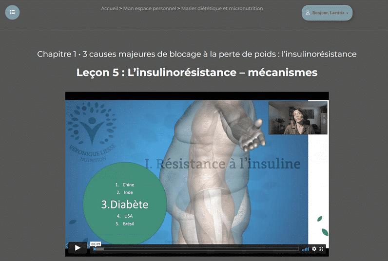 Formations Micronutrition Capture écran 2