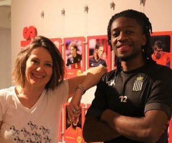 Véronique Liesse et Joris Kayombé
